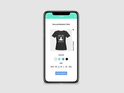 Clothing Brand Shop UI