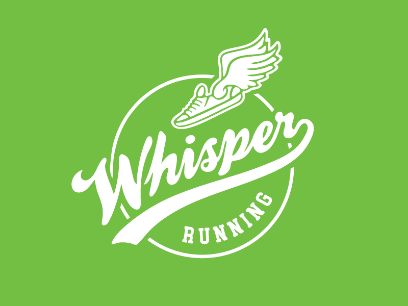 Throwback Script Mark throwback script whisper running wing shoe running club