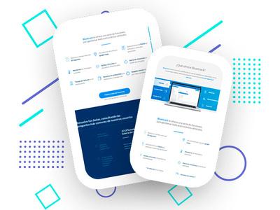 Website Pages landing page vector illustration design adobexd uidesign raylin webdeveloper website banner website