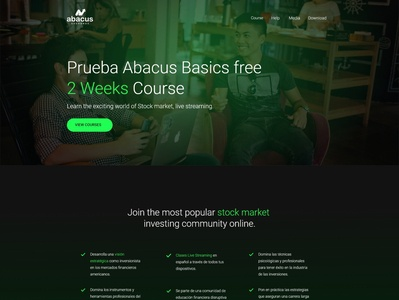 Abacus Exchange V2 - Wordpress Minimalist dominican republic wordpress theme abacus wordpress webdesign website adobexd uidesign
