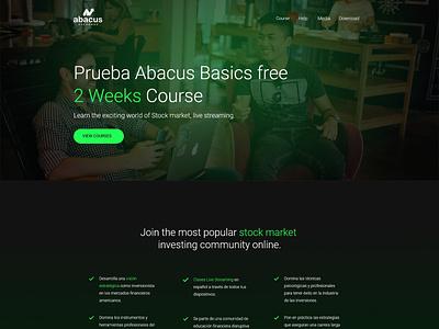Abacus Exchange V2 - Wordpress Minimalist dominican republic wordpress theme abacus wordpress webdesign website adobexd uidesign