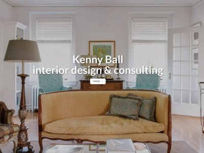 Interior Design Company Landing Page landing page
