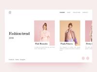 Fashion show platform