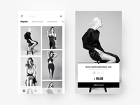 Shopping APP interface design