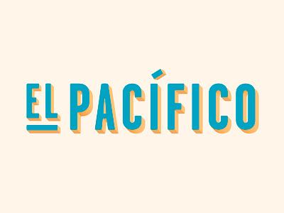 El Pacífico logotype logo meditarrenian sea bar barceloneta barcelona spain tapas restaurant pacific pacífico el pacífico