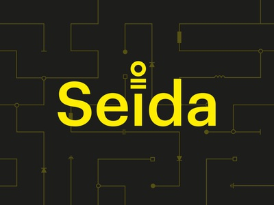 Seida Logo circuits logo electricity industrial seida