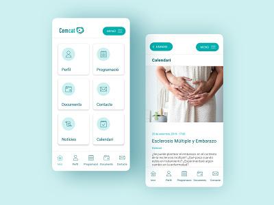 Cemcat APP multiplesclerosis hospital cemcat appdesign design app