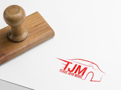 Automotive Logo Design - Rubber Stamp
