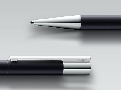 Lamy Scala lamy pen ballpoint scala chrome matte