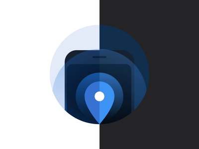 Location Tracking Animation after effects lottie permissions animation illustration