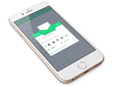 Invite iOS  ux ui mobile smartphone ios app organizing event planning social invite