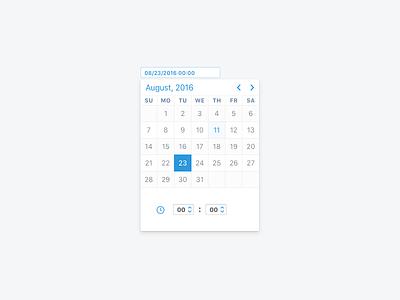 Date And Time Picker jqueryui table inteface web ui widget calendar picker time date