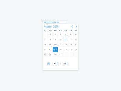 Date And Time Picker jqueryui table inteface web ui widget calendar picker time date