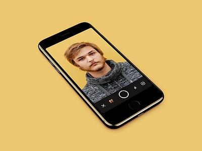 Profile Photo Camera selfie camera app mobile ios zello
