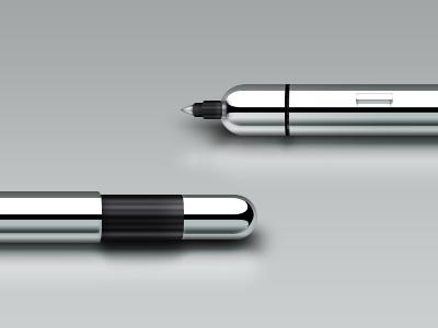 Pen dribbble