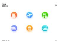 Trip icons