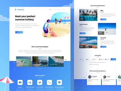 summer holiday website