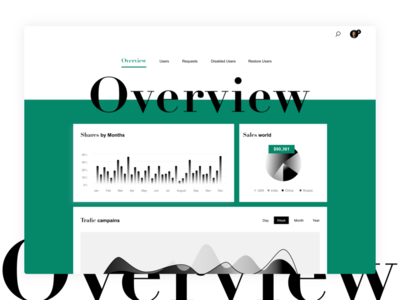 DAILYUI #018 OVERVIEW