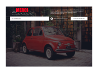 FAKE CAR INTERFACE for MERCI DAILY UI#034