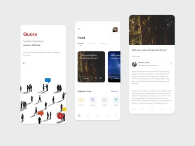 Quora - Redesign Concept