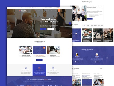 Stockton - Business & Financial Consulting WordPress Theme