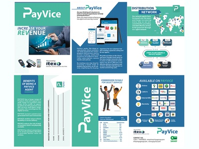 Payvice Trifold Brochure