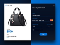 Daily Ui 004 (Credit card checkout)