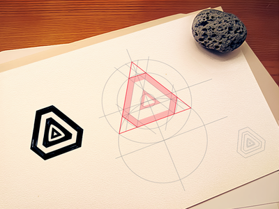 Space station grid wireframe sketch branding grid layers logotype sketch sketches process paper icon logo drawings mark