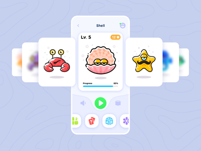 Interactive Reading App For Kids identity cartoon character user interface interactivedesign education app character design mobile app kids interactive game app game design children learning platform illustraion reading interactive book mascot book ui interaction