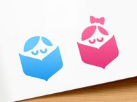 Interactive book logo