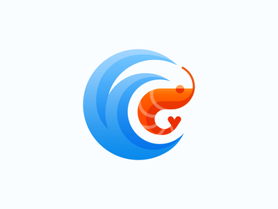 Seafood Logo branding design logotype preview branding project seafood shrimp brand sign brand identity designer grid structure animal branding identity logo mark design logo design icon vector identity logo branding design logotype