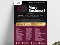 BNI Invitation Design