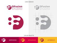 DFusion Studio Logo Design