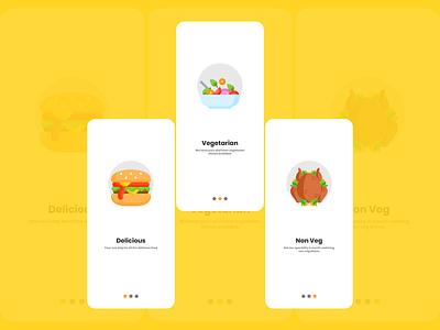 Dashboard for food app dashboard mobile app food foodapp ux ui design uiux vector minimal