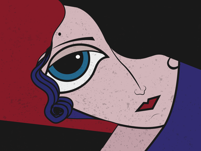 That Girl paintings digitalart artwork painting art vector design illustration minimal