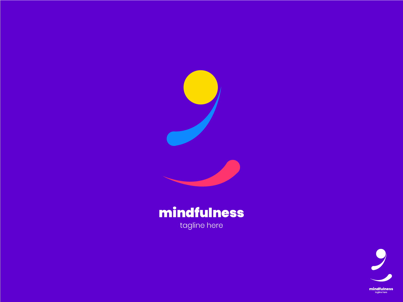 Logo Design For Yoga Classes By Saagarshrest On Dribbble