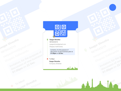 Visitors Detail mobile app design mobile mobile apps mobile app ux ui uiux illustration minimal