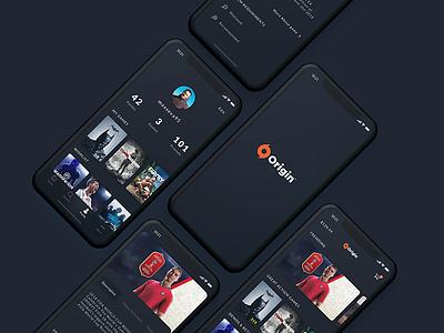 Origin App ios mobile uiux