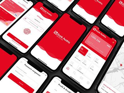UniCredit Bank Austria AG app finance banking mobile ux ui