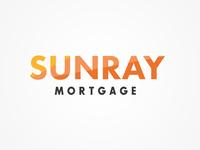 SUNRAY Mortgage Logo web typography artist art artdirection branding logo photoshop designer graphicdesign design concept pentool vector illustrator illustration