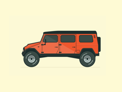 UMM Alter II vector illustration vintage defunct retro alter jeep portugal car umm