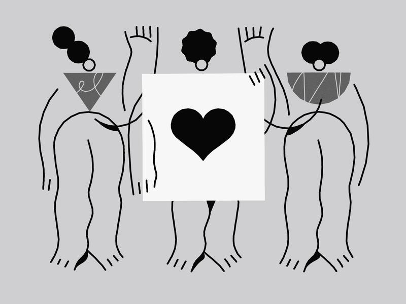 Black lives matter 🖤 revolution unite black blacklivesmatter vector illustration