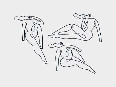 Happy Women's day ✨ lineart line women womens day oneline minimal illustrator design vector illustration