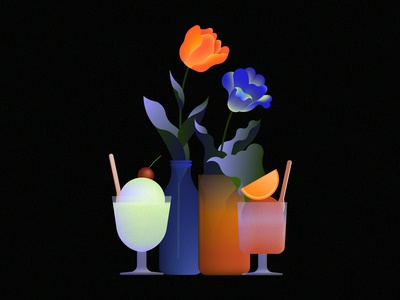 Tulips & ice-cream
