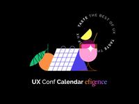 UX Conf Calendar 🗓✨