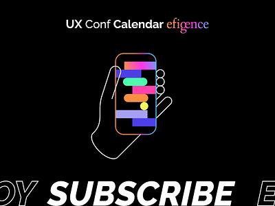 Efigence Calendar✨ calendar motion animation ux ui flat minimal illustrator design vector illustration