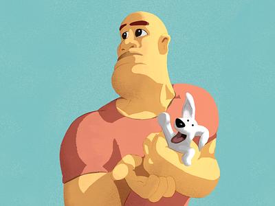 Big & small colorful design procreateart procreate design 2d character illustration