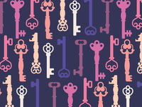 Skeleton Keys Pattern