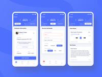 Business app (SaaS CRM) design crm business app web ux ui