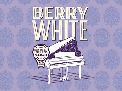 Berry White Illustration design illustration typography matt thompson